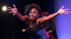 happy performer (tibchris) Tags: dancer happy crystal portrait arieldanceproductions arieldancestudio dance dancing danceclasses danceclass learntodance