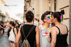 Human rights are my Pride (essenz_a) Tags: seleziona pride torino turin pridetorino2016 glbt lesbian gay humanrights rights kiss woman women rainbow kissing street city love arcobaleno arcoiris