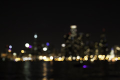 Chicago Skyline (Photo Amy) Tags: city summer chicago skyline night dark bokeh lakemichigan ef28135mm chicagoriver greatlake cityskyline canoneos50d