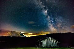 Milkyway over Geroldsee (JTrojer) Tags: longexposure night stars bayern bavaria nightwalk milkyway karwendel trojer geroldsee wagenbrchsee jtrojercom