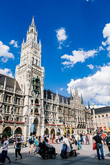 (vvvulpea) Tags: munchen germany bavaria alte rathaus marienplatz