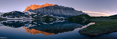 Lac d'Anterne surnrise (StephAnna :-)) Tags: alpen berge bergsee france frankreich hautesavoie himmel lac lacdanterne lake morgenleuchten morgenlicht see sixtfercheval sonnenaufgang spiegelung ttelne alpes alps ciel leverdusoleil matin matinale morning reflection sky sunrise