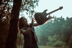 IMG_5327 (rodinaat) Tags: longhair longhairman longhairedman longhaired beard bearded metal metalhead powermetal trashmetal guitar musican guitarplayer brutal forest summer sun