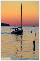 End of the Day (Cory_ACP) Tags: wisconsin doorcounty ephraim sailing sailboat sunset water lakemichigan silhouette corychristensen aldercreekphotography