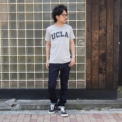 August 05, 2016 at 01:35PM (audience_jp) Tags: shop fashion  audienceshop ootd japan kouenji snap   aud3061jp    upscapeaudience tokyo madeinjapan   audience   coordinate