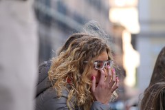Good morning lady! (teresarighetti) Tags: morning portrait rome roma girl lady curly blonde goodmorning ritratto bionda blondecurly