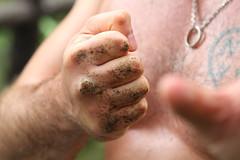 training hongkong hand hiking hill palm fist wingchun