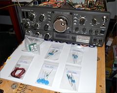 TRIO TS-530S CATHODE AND SCREEN RESISTORS REPAIR KIT (pwllgwyngyll) Tags: by diy cage screen hobby pa final repair kits and trio resistor 73 radioshack kenwood capacitors hamradio amateurradio cathode 100watts relays shortwaveradio llanfairpwll dxing repairkit 100ohm radiocommunication ts530s radiorepairs ts830s 2w0daa 20ohm swling shortwavebands gw4jkr 6146bs outputpower 470ohm triots530scathodeandscreenresistorschange k4eaa getsugoingagain triots530shybridradio patubes valvestubes 35yearoldtransceiver
