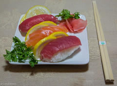 """Sushi Night • <a style=""""font-size:0.8em;"""" href=""""http://www.flickr.com/photos/92159645@N05/15612278594/"""" target=""""_blank"""">View on Flickr</a>"""