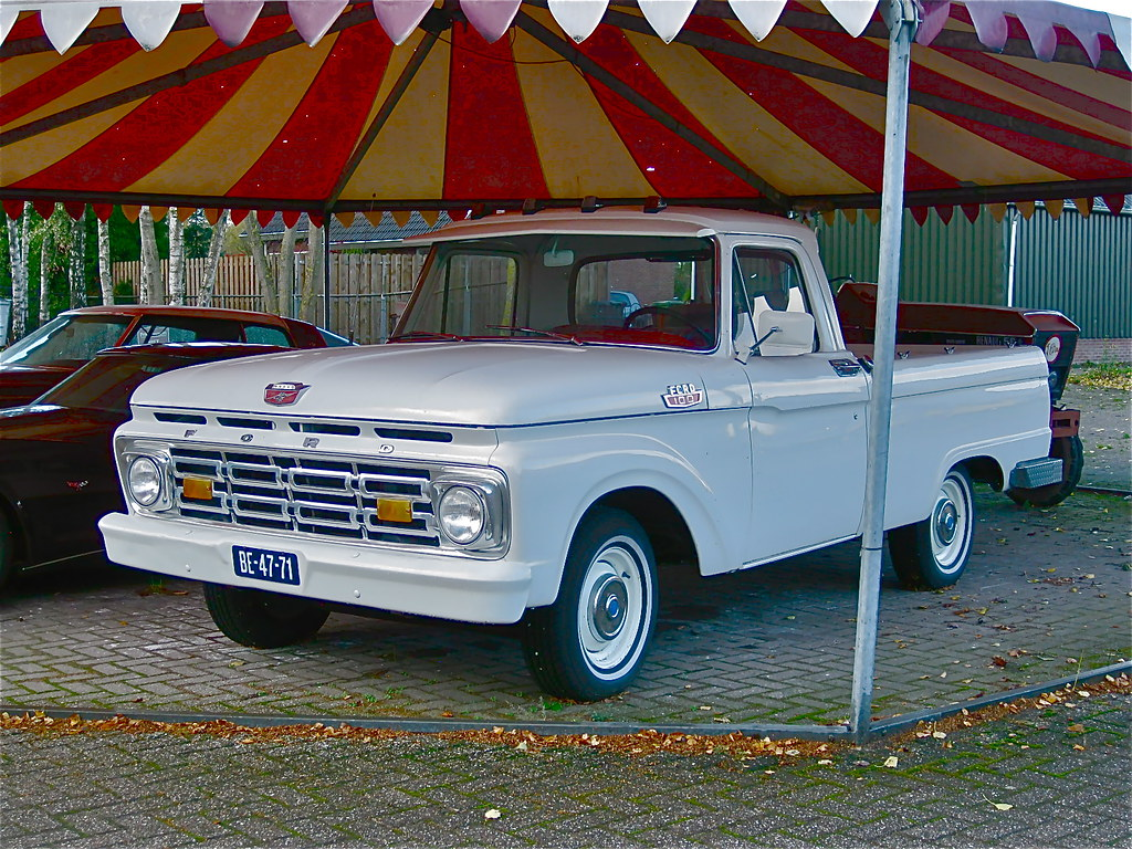 The Worlds Best Photos Of 1960s And F100 Flickr Hive Mind 1964 Ford Ranger Custom Cab Pick Up Classicsonthestreet Tags Classic 60s