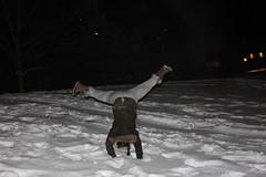 Hazel Cartwheeling Downhill (m.gifford) Tags: winter snow ontario canada cold ottawa hazel sledding dovercourt cartwheel