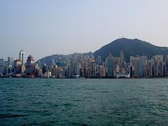 Hong Kong (Marian Pollock - Thanks for a million+ views) Tags: mountain seascape hongkong skyscrapers hongkongisland