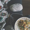 Super spicy coconut curry chicken + crochet + tiny girl napping (aka: Christmas miracle) = perfect Christmas Eve day. Missing noe + kai, theyre in California + Hashanna is taking her state board exam. Weird not having my big kids home this year for the h