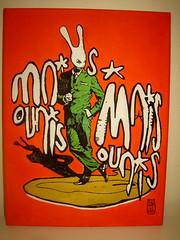 aleister re used canvas 2014 mais ouais (mc1984) Tags: rabbit canvas lapin toile mc1984 aleister236 aleisterreusedcanvas2014