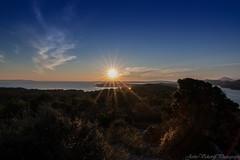 sunceJarko (jerko1979) Tags: sunset sea sun tourism coast croatia adriatic malilošinj