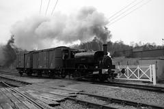 BH 26155bw (kgvuk) Tags: vulcan railways locomotives steamlocomotive barrowhill barrowhillroundhouse 040st barrowhillengineshed