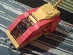 Primitive shuttle (LEGOHungary) Tags: lego space shuttle