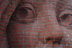 stonefaced (stevefge) Tags: sculpture brick art netherlands nederland wijchen nederlandvandaag