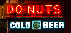 homer simpson heaven (Christian Collins) Tags: sign canon neon ugh donuts coldbeer homersimpson combo beersign donutsign donutsandbeer beeranddonuts