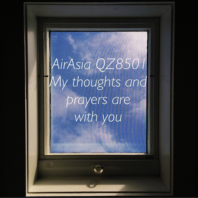 My thoughts and prayers are with you AirAsia QZ 8501 🙏 #qz8501 #airasia #staystrong #aviationdisaster #flight8501 #prayers #thoughts
