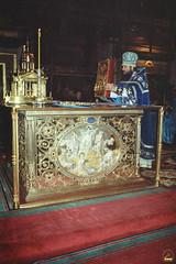 82. Архим. Арсений в Почаевской Лавре 2002 г