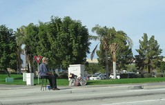 January 20, 2015 (2) (gaymay) Tags: california gay love bike bicycle happy chair desert palmsprings riding triad panhandling