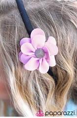 Glimpse of Malibu Purple Headband K2 P6520-5