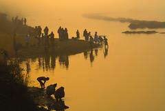 Morning glow (Rajib Singha) Tags: street travel portrait people india river interestingness searchthebest explore custom westbengal nikond200 birbhum kenduli flickriver mfnikkor75150mmf35eais