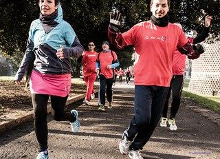 Women in Run in azione ☺️❤️