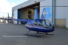 4O-FLY Robinson R-44 Raven II (Jersey Airport Photography) Tags: jer jersey raven robinson r44 egjj airwaysaviation 4ofly