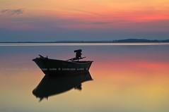 Resting (Landscape Junkie) Tags: reflections boat malaysia goldenhour kelantan sigma1020mm leefilters nikond90 jubakar landscapejunkie muhamadfaisalibrahim