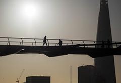 Millenium Bridge (Ian Rosenthal) Tags: bridge london shard
