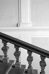 Galleria Degli Uffizi I ( ) Tags: bw white black museum architecture canon eos florence italia scala firenze uffizi galleria 550d