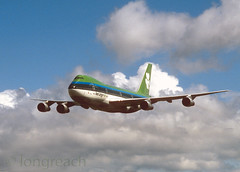 Aer Lingus B747 'EI-BED' (Longreach - Jonathan McDonnell) Tags: dublin clouds 1988 scan boeing 1980s boeing747 747 eime aerlingus nikoncoolscanved scanfromaslide baldonnel 747100 justclouds airspectacular 747130 dublinmillennium eibed baldonnelaerodrome airspectacular1988 146000x