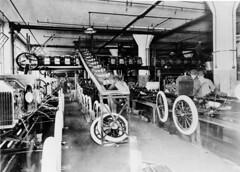 1914 - Ford Highland Park Plant Assembly Line (biglinc71) Tags: park plant ford t early model line highland 1914 assembly