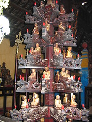 Wood Carving in HCMC Temple