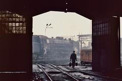 Loco Pt47 30 Klodzko depot (1) 1985 (keithwilde152) Tags: poland steam pkp klodzko pt47
