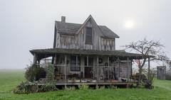 The Wood House (acase1968) Tags: old fog oregon lens point nikon eagle d750 nikkor built vr afs 1870 f4g 24120mm