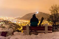 High (An Dreea) Tags: mountain ski night skiing