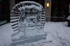 Icefest 31 (codie_horse) Tags: toronto statues talent wintertime yorkville icecarving frozenintime 2015 ancientegyptian blooryorkville 10thyear madeofice 10thannualicefest icefest15 bloorandyorkville