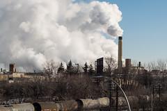 St. Paul, Minnesota (krwitschen) Tags: city morning industry saint minnesota paul photography early smoke stack scape