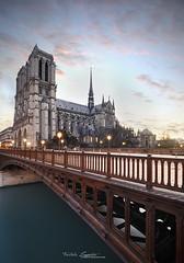 Paris City (F.Loyster) Tags: city paris seine night eau bridges double notredame toureiffel pont change montparnasse arcdetriomphe ville lumires ladfense parisbynight arcole