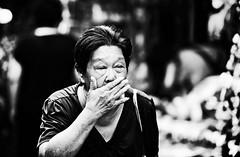 存在  Existence (Anna Kwa) Tags: life portrait people streets monochrome singapore chinatown existence 存在 annakwa