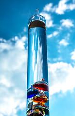 Galileo thermometer (-gregg-) Tags: clouds galileo thermometer macro strange 2