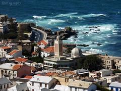 The City - El-Madina (zhadjam) Tags: seascape cityscape architecture oldcity flickrnature colours algiers urban