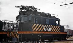 SN 645 In the Yard.. (Robert Gadsdon) Tags: 645 1953 withdrawn rebuilt scrapped sacramentonorthern electricloco