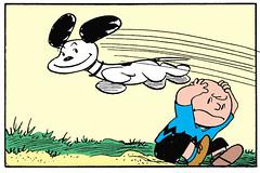 Snoopy (Tom Simpson) Tags: peanuts charliebrown snoopy comics illustration comicstrip newspapercomics charlesmschulz 1954 1950s