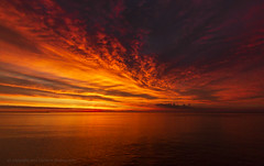 Sailors Take Warning (Razzo1988) Tags: lake superior lakesuperior great lakes greatlakes sky sea water fresh lighthouse light house sunrise sun rise michigan upper peninsula upperpeninsula up marquette redsky red sailors takewarning storm clouds
