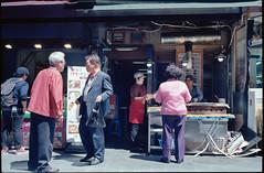 Dongdaemun - -Small restaurant - Seoul - South Korea (waex99) Tags: 100iso 2016may color coree ekta epson kodak korea leica seoul south sud film m4 v500 food dongdaemun restaurant people