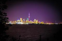 Toronto (SarahJKelleher) Tags: toronto skyline cntower water lake sky purple ontario canada nikon nikond7200 nikondslr nikon50mm 50mm lightroom